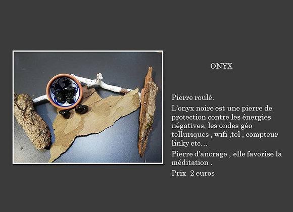 pierre roulé onyx