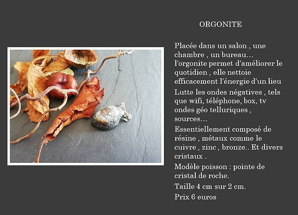 Orgonite poisson