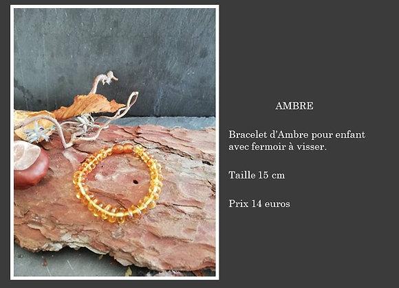 Bracelet Ambre