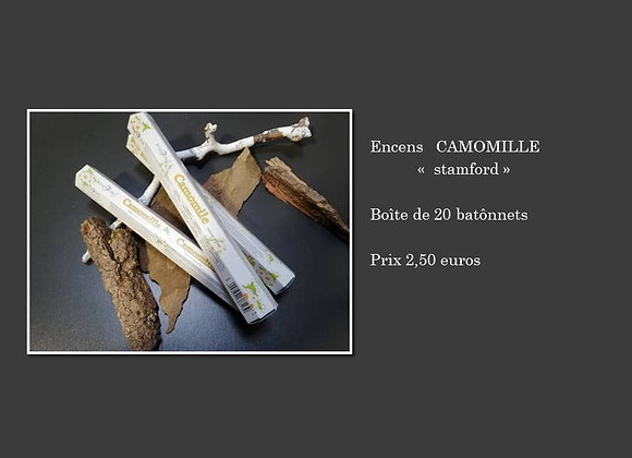 encens camomille
