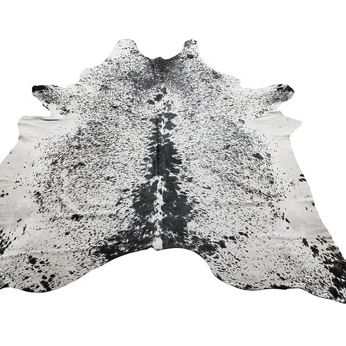 Salt & Pepper (Black) Brazilian Cow Hide