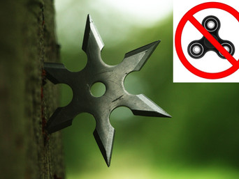 Liberal Pussies Want Our Boys Playing With Fidget Spinners Instead Of Japanese Throwing Stars
