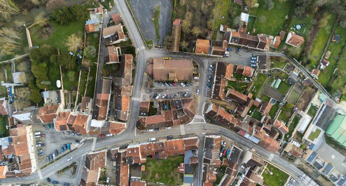 Villeneuve-sur-Bellot Drone