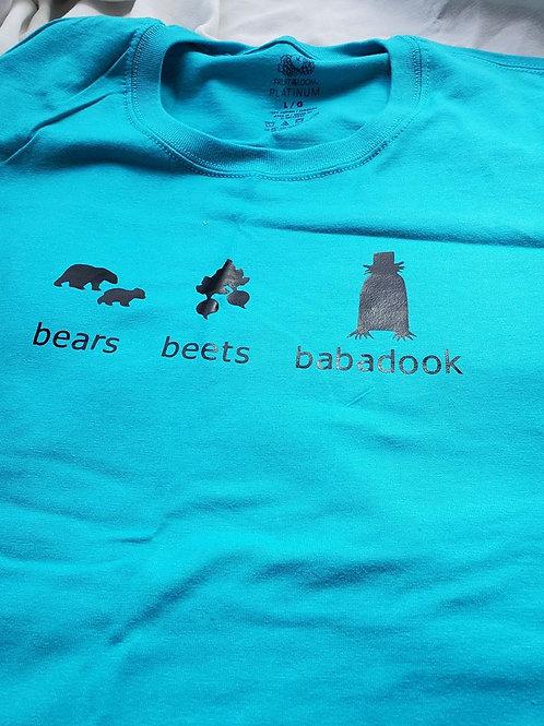 Bears Beets Babadook t-shirt