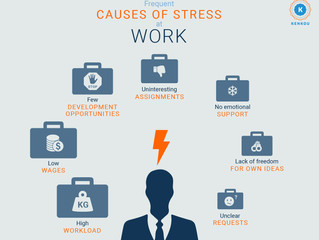 Dealing with good stress / bad stress at work