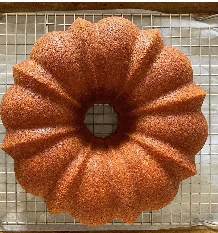 Gourmet Sour Cream Bundt Cake