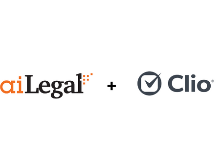 aiLegal now helps Clio's law firm users in seamless contract automation and management