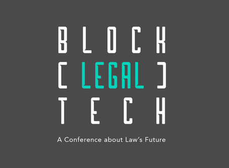 2019 Chicago-Kent Block (Legal) Tech Conference