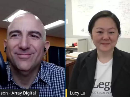 An Interview with Lucy Lu, founder @ aiLegal - The Managing Partners Podcast