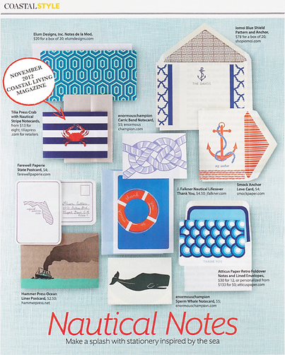 COASTAL-LIVING-MAGAZINE-NAUTICAL NOTES-T