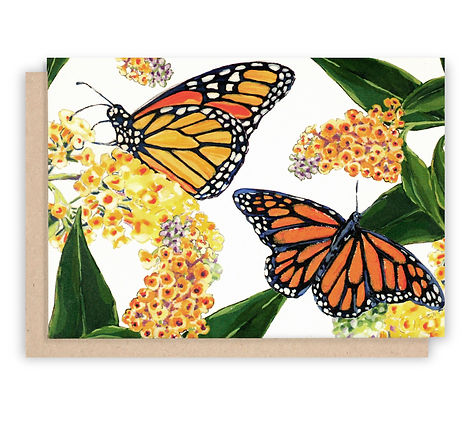 Monarch Butterfly notecards stationery