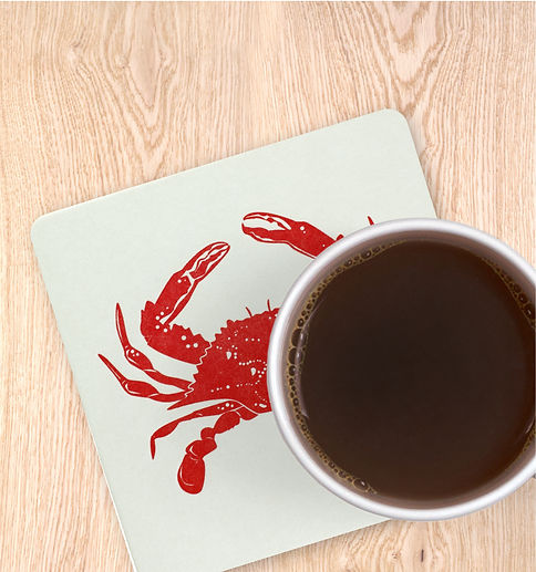 Crab Coasters Nautical Coaster