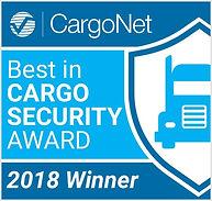 CargoNet Best in Cargo Security Award 20