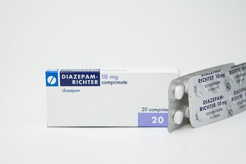 Standard dose of valium