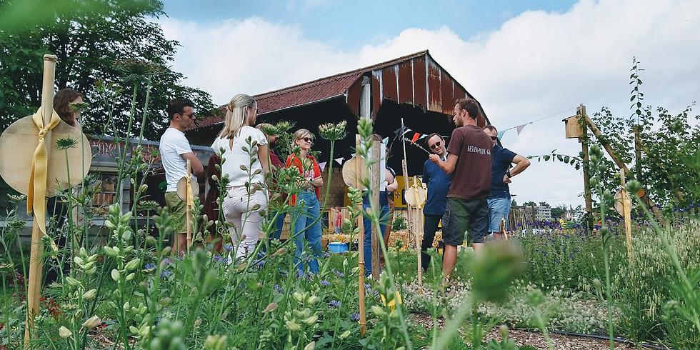 Workshop veldboeket maken bij Fruitbos