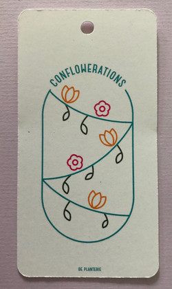 Hangtag: Conflowerations