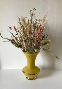 Kleurrijk droogbloemenboeket