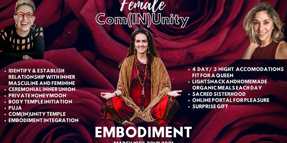 Female Com(IN)Unity Embodiment