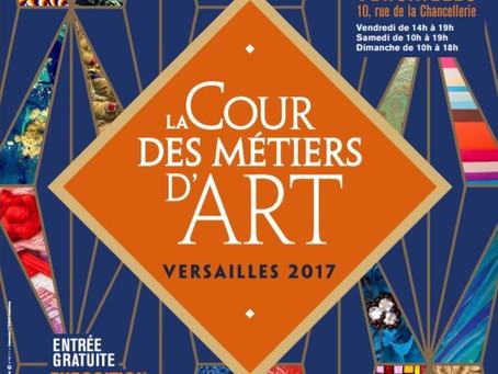 L'ATELIER PRIMAVERA EXPOSE : LA COUR DES METIERS D'ART DE VERSAILLES