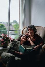 Tieneke Sumter  (Queer Activist) & daugh