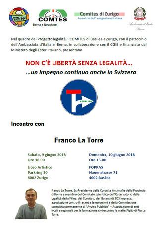 Franco La Torre a zurigo