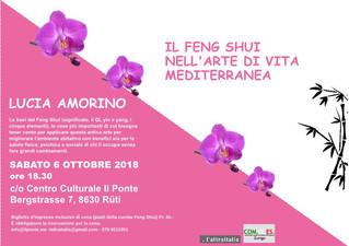 Il feng shui nell'arte di vita mediterranea