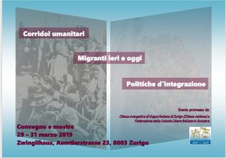 Migranti ieri ed oggi: convegno e mostre