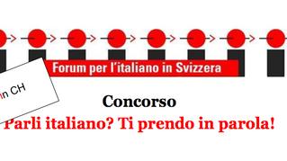 """Concorso. """"parli italiano? Ti prendo in parola!"""""""