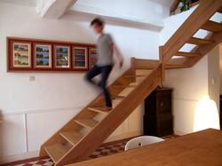 escalier flou