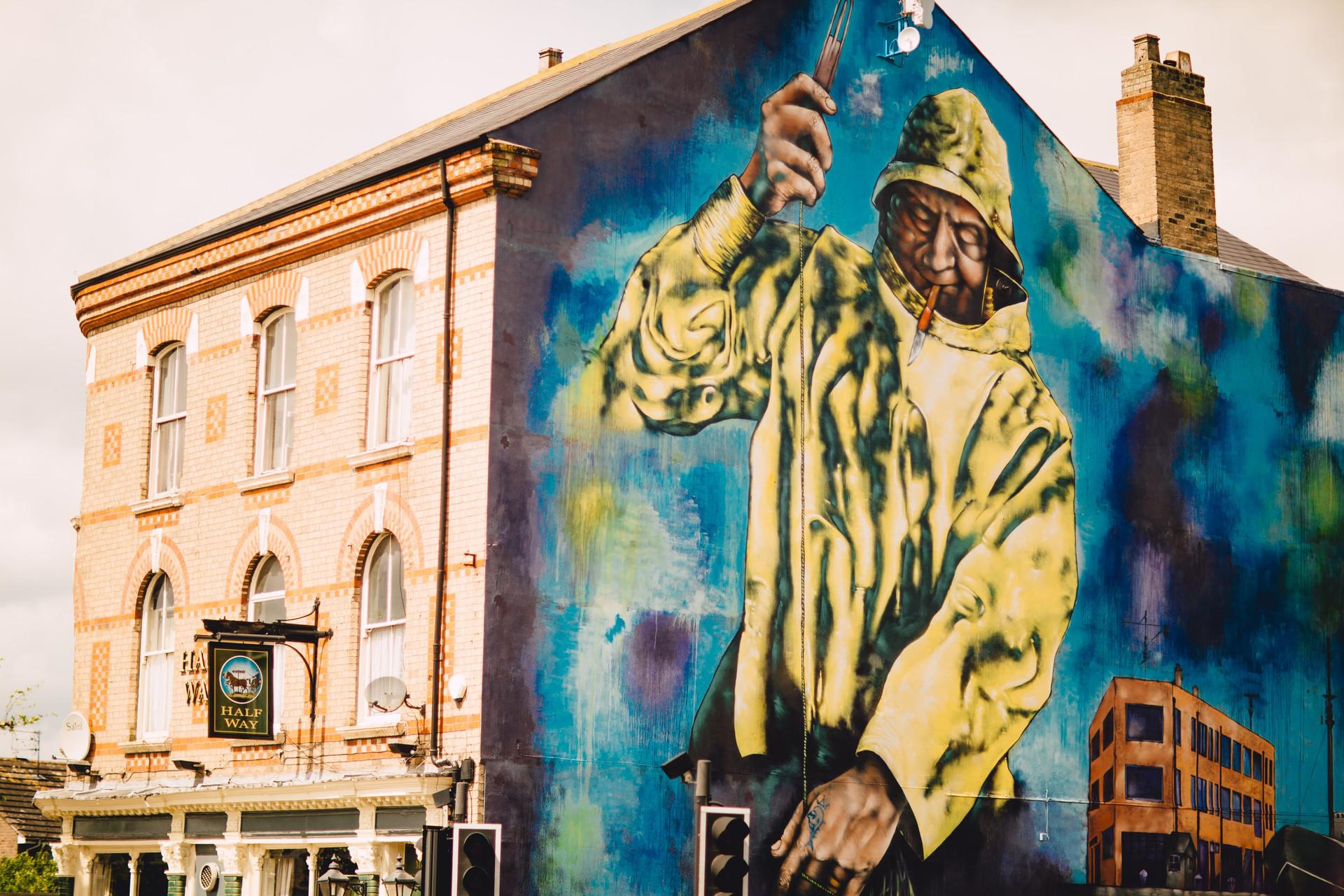 Hessle Road Murals, Hull