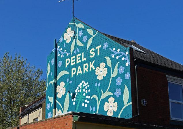 Peel Street Park Mural