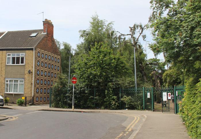 East Park Doorstep Mural, Hull