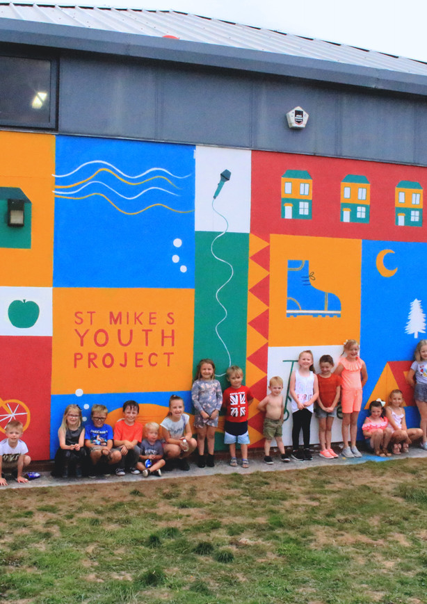 St Mikes Youth Centre Mural