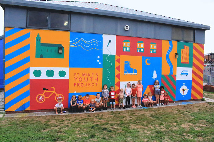 Orchard Park mural