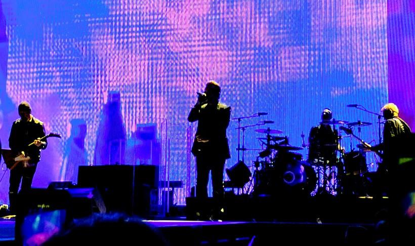 U2 performing at Bonnaroo in June, 2017
