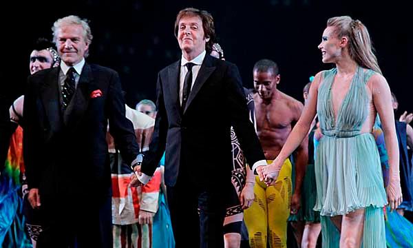 Peter Martins, Paul McCartney, Sara Mearns