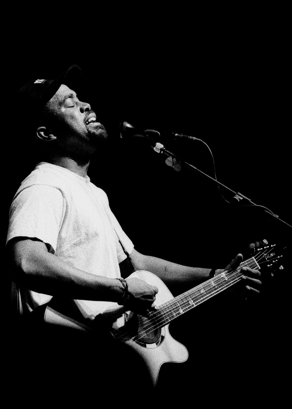 Darius Rucker in Greenville, SC, 1994. Photo by Oliver Tollison.