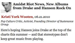 Drake vs. Hanson vs. NYPD!