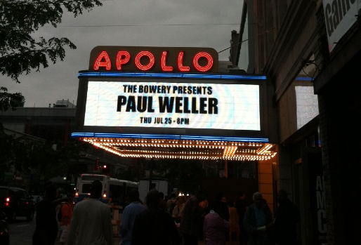 Paul Weller and Rock History: Apollo Landing