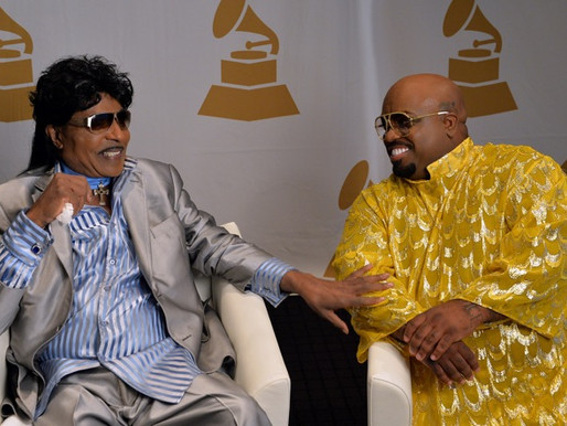 Little Richard Confesses to Cee Lo About Heart Attack