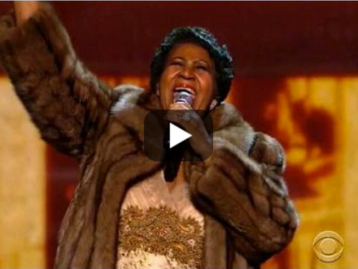 Why We're Still Watching That Video of Aretha Franklin at the Kennedy Center