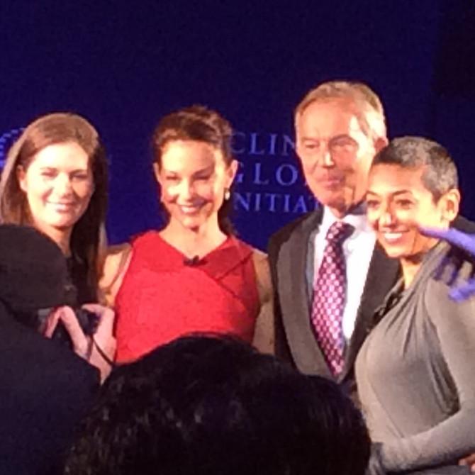 CNN's Erin Burnett Hosts Best Panel at CGI Annual Meeting