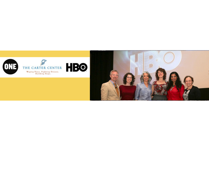HBO and Malaria No More Premiere Mary and Martha at the Carter Center
