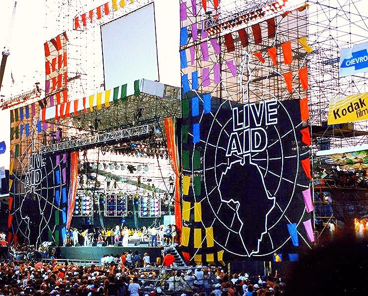 Live Aid, July 13, 1985