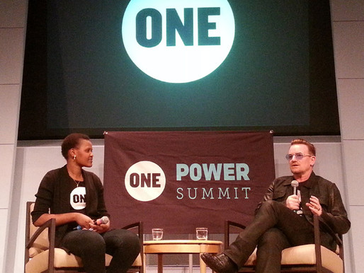 Bono Surprises ONE Members at the Power Summit