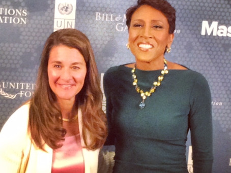 Melinda Gates is the Star of UN Week