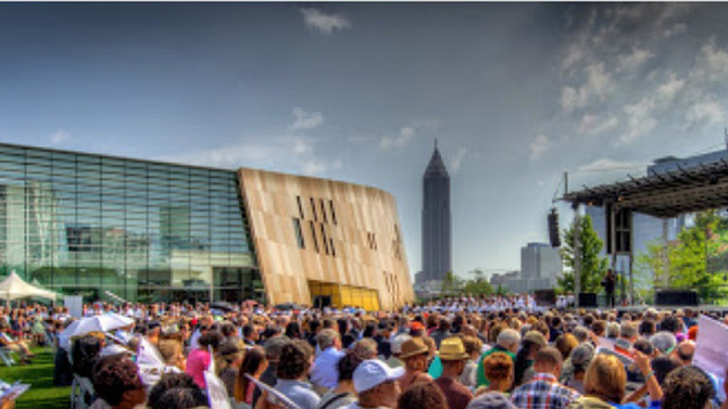 The Center for Civil and Human Rights Opens in Atlanta