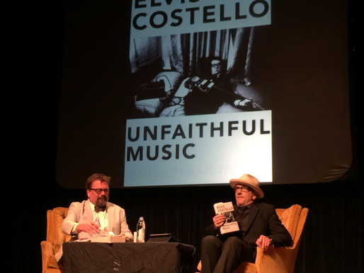 Elvis Costello's Hardcover Rock: Why Music Memoirs Matter