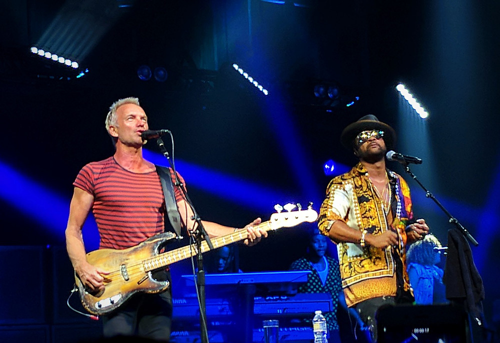 Sting and Shaggy at the Tabernacle in Atlanta 2018
