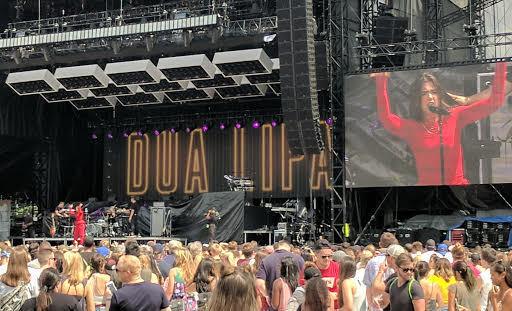 Watch Dua Lipa Jump into Crowd of Atlanta Fans